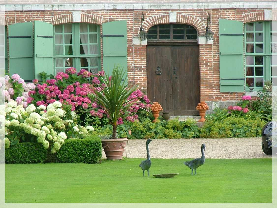 Normandie des jardins enchant s for Jardin normandie